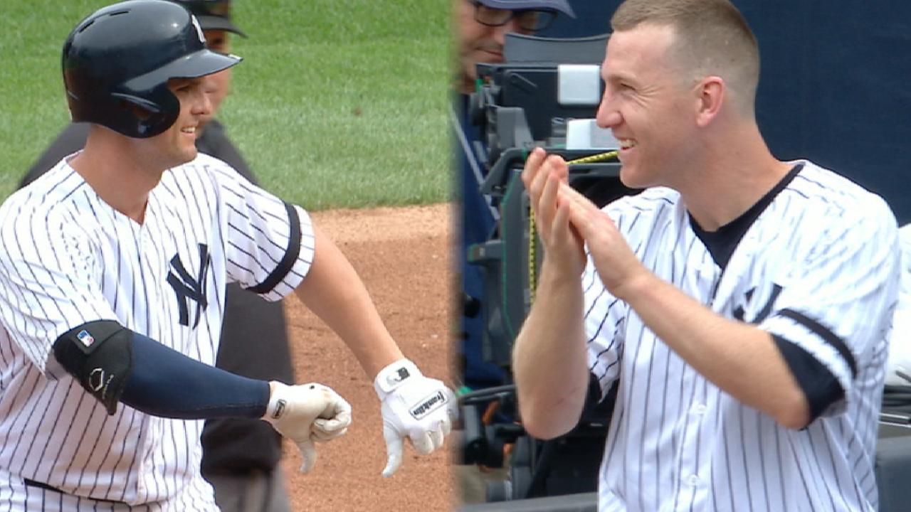 Yankees put up six in the 4th