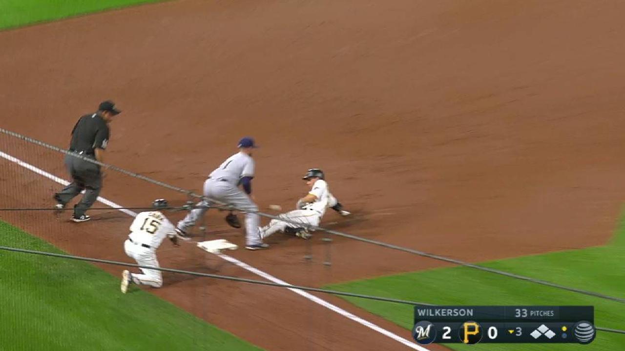 Frazier's two-run triple