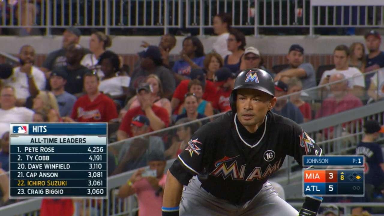 Inbox: Spot for Ichiro on '18 Marlins?
