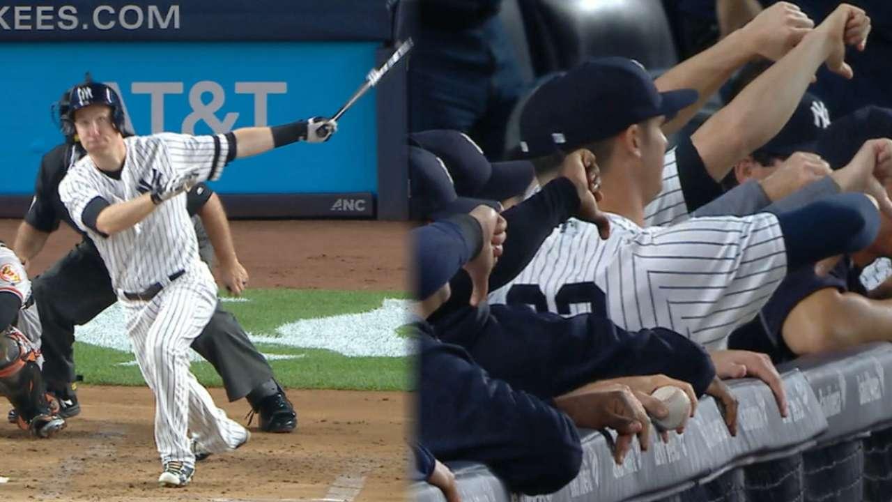 Frazier's three-run homer