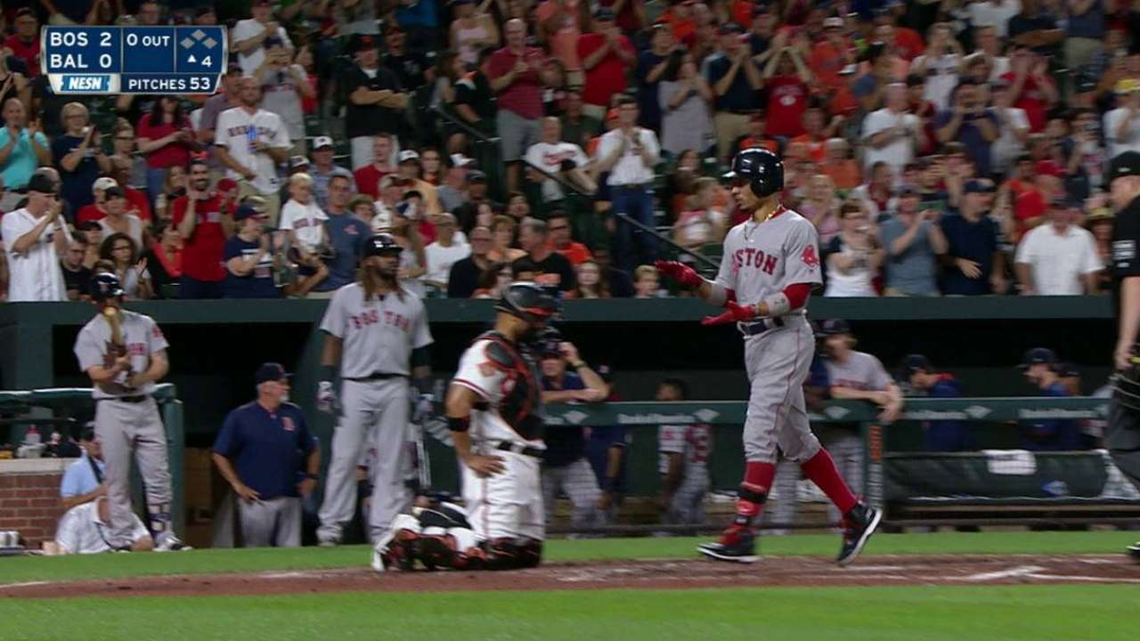 Betts' 23rd homer of the year