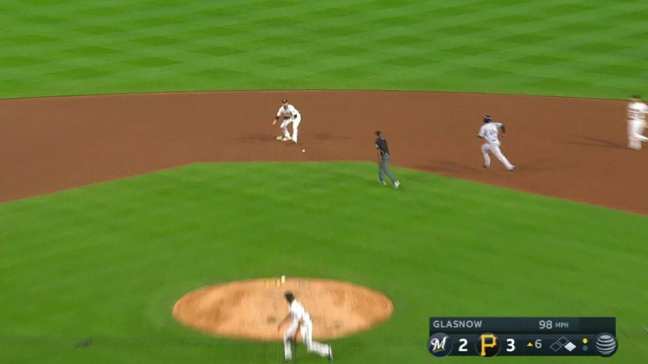 Glasnow induces double play