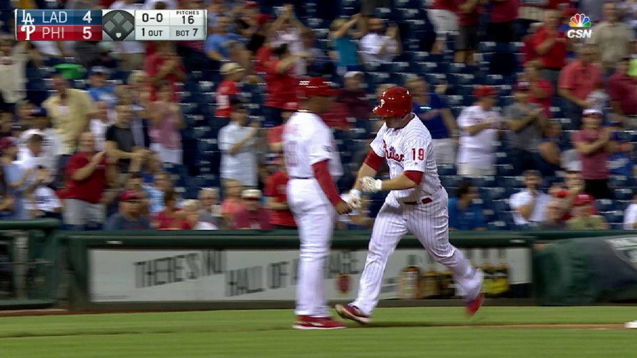 Joseph's homer gives Phils lead