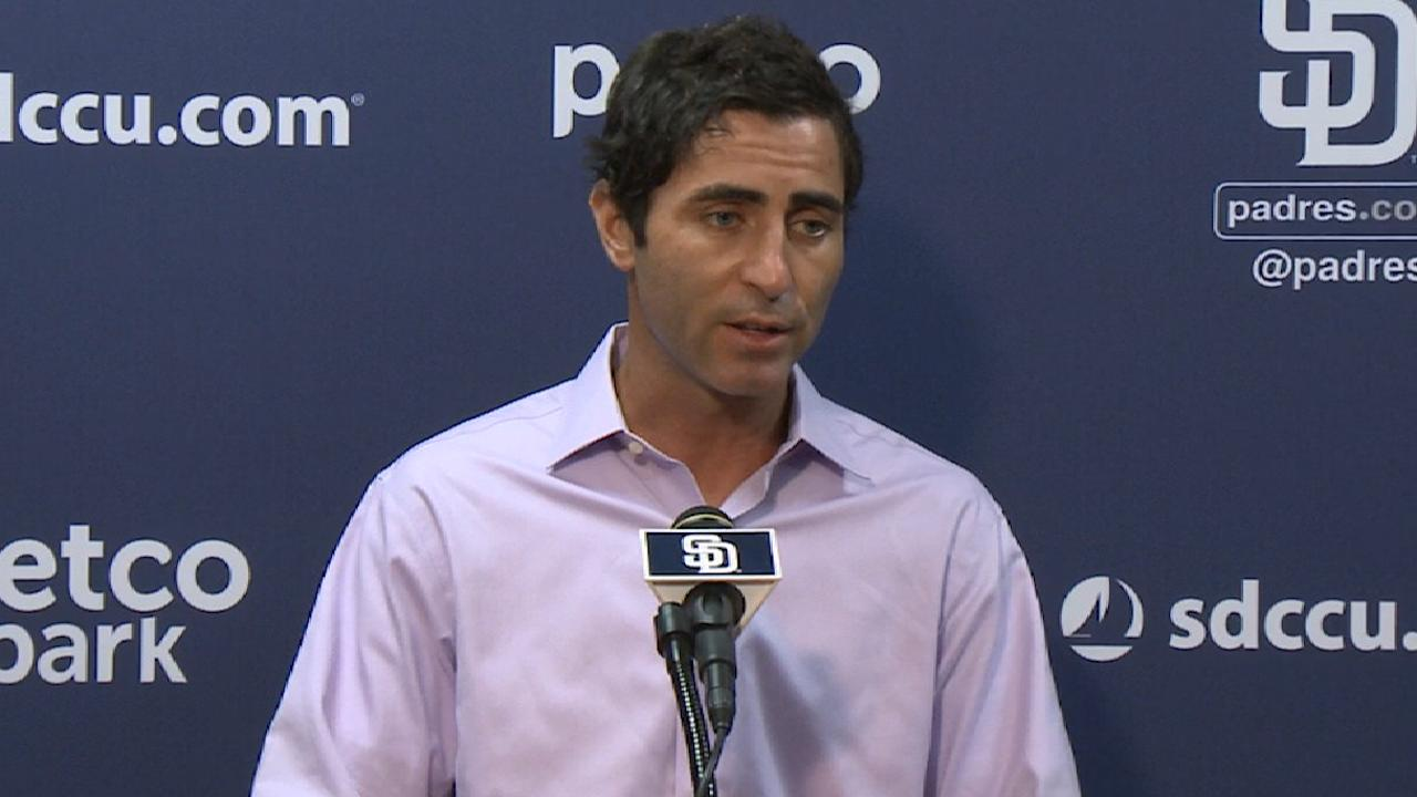 Padres GM on Richard's extension