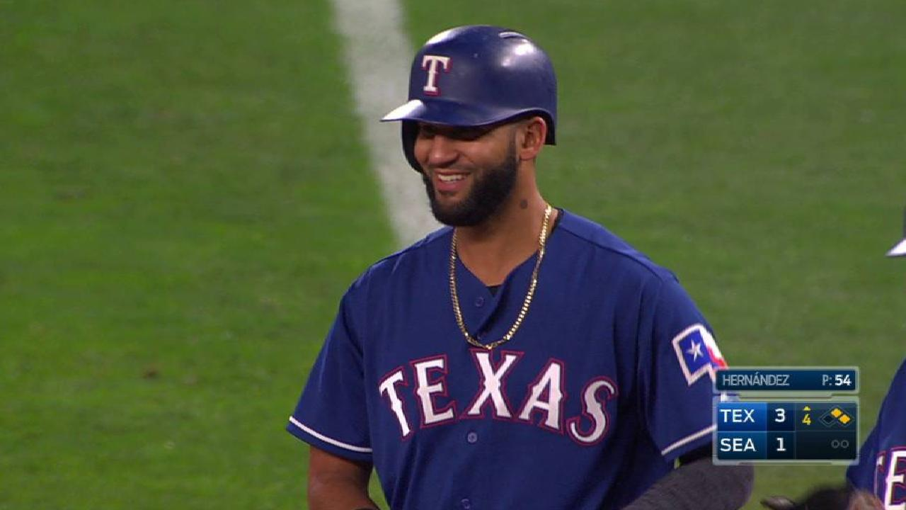 Mazara's two-run single
