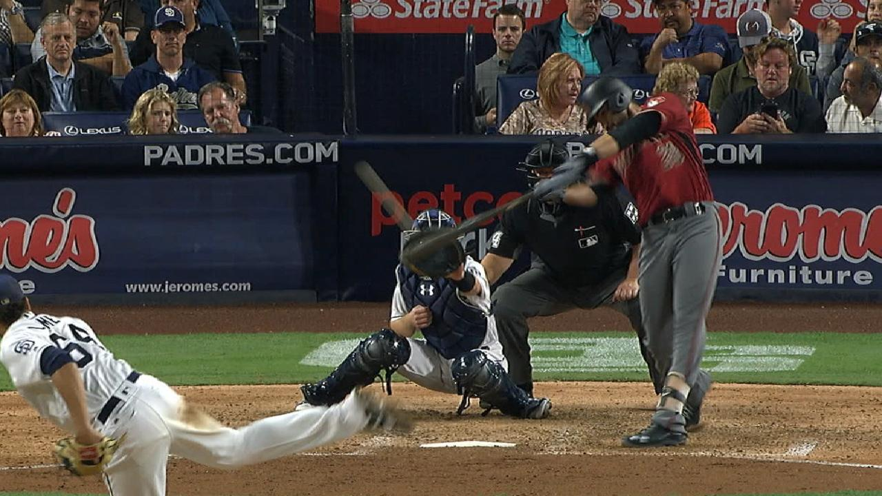 Martinez's two-run homer