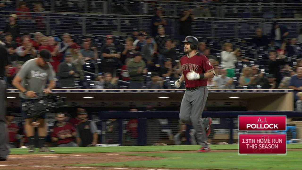Pollock locked in at perfect time for D-backs