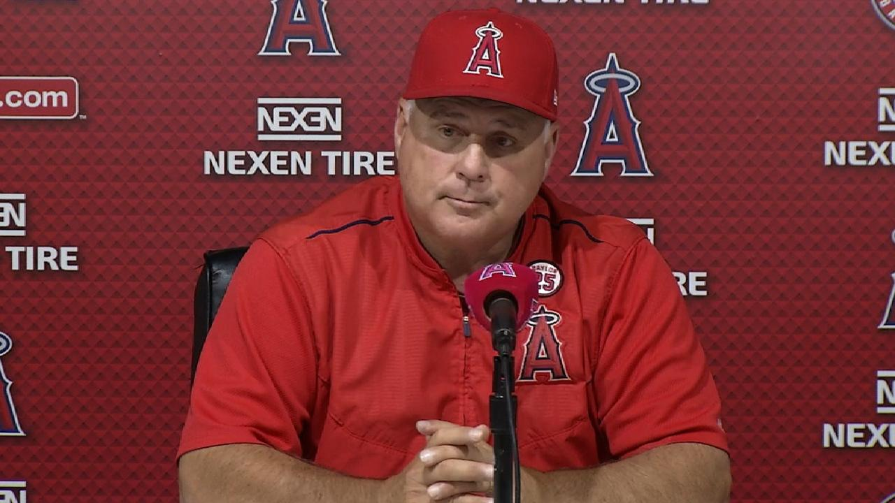 Scioscia isn't worried about Petit's rare hiccup