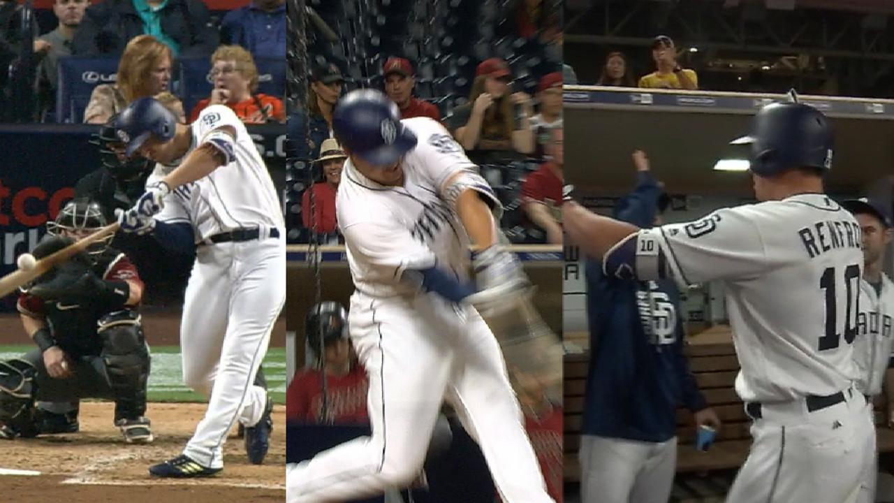 Renfroe's three-homer game