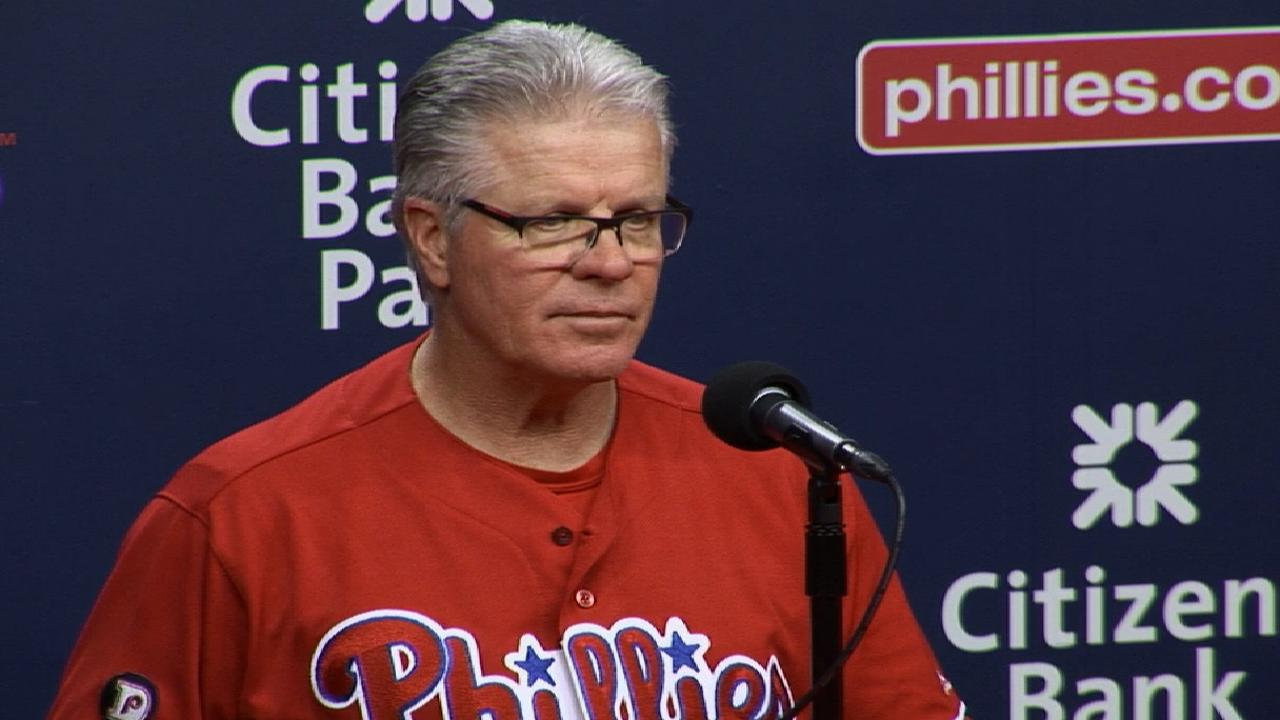 Mackanin on 5-4 loss to Dodgers
