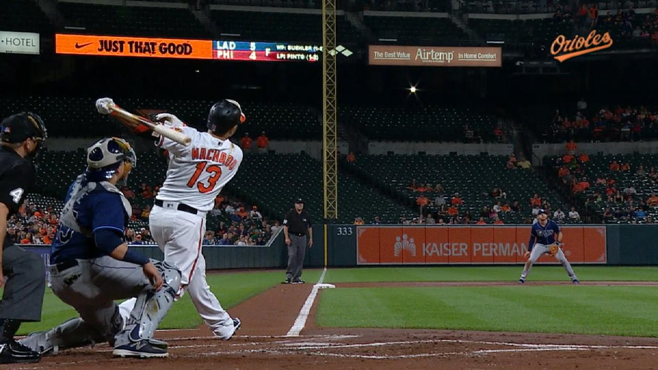 Machado's two-run home run