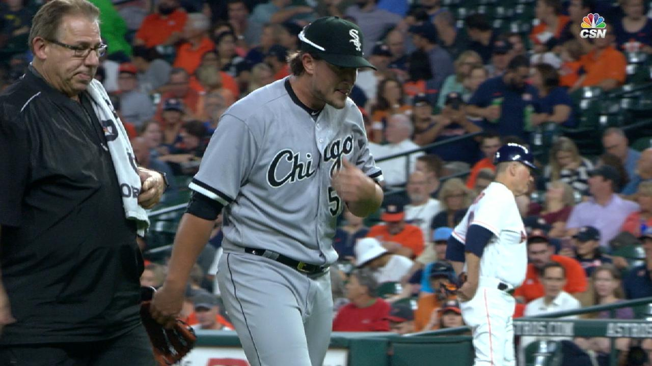 Fulmer exits with a blister