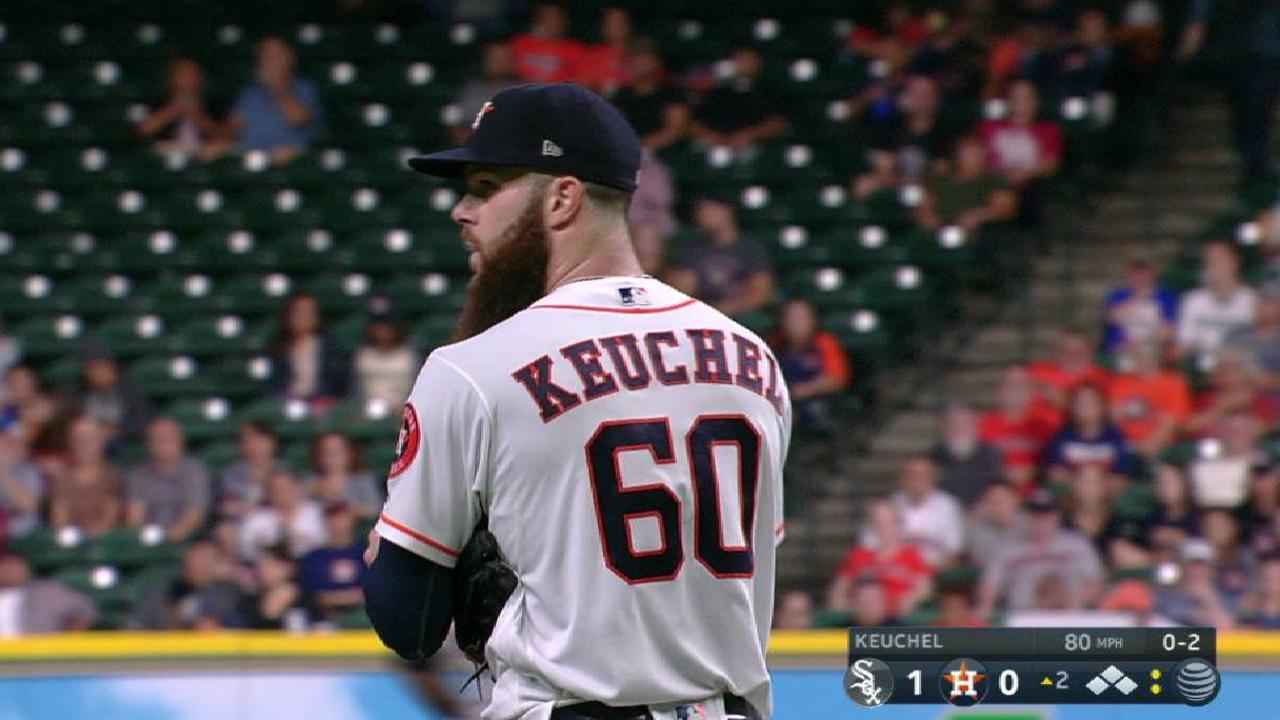 Keuchel strands the bases loaded