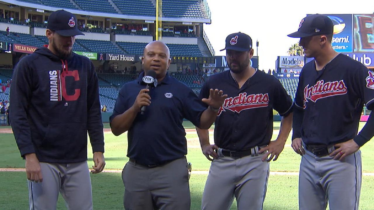 Indians bullpen on strong outing