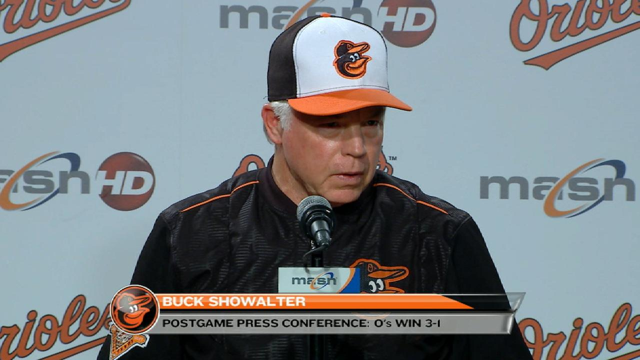 Showalter on win over Rays