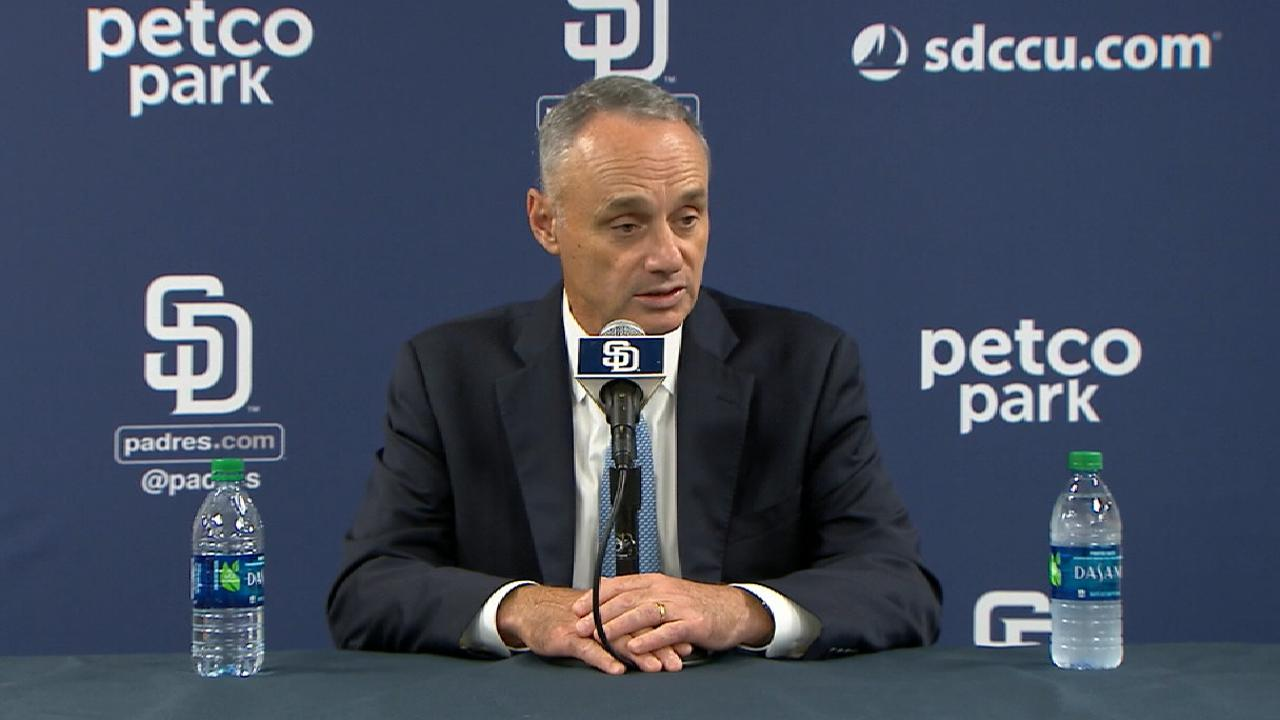 Manfred on games in Mexico