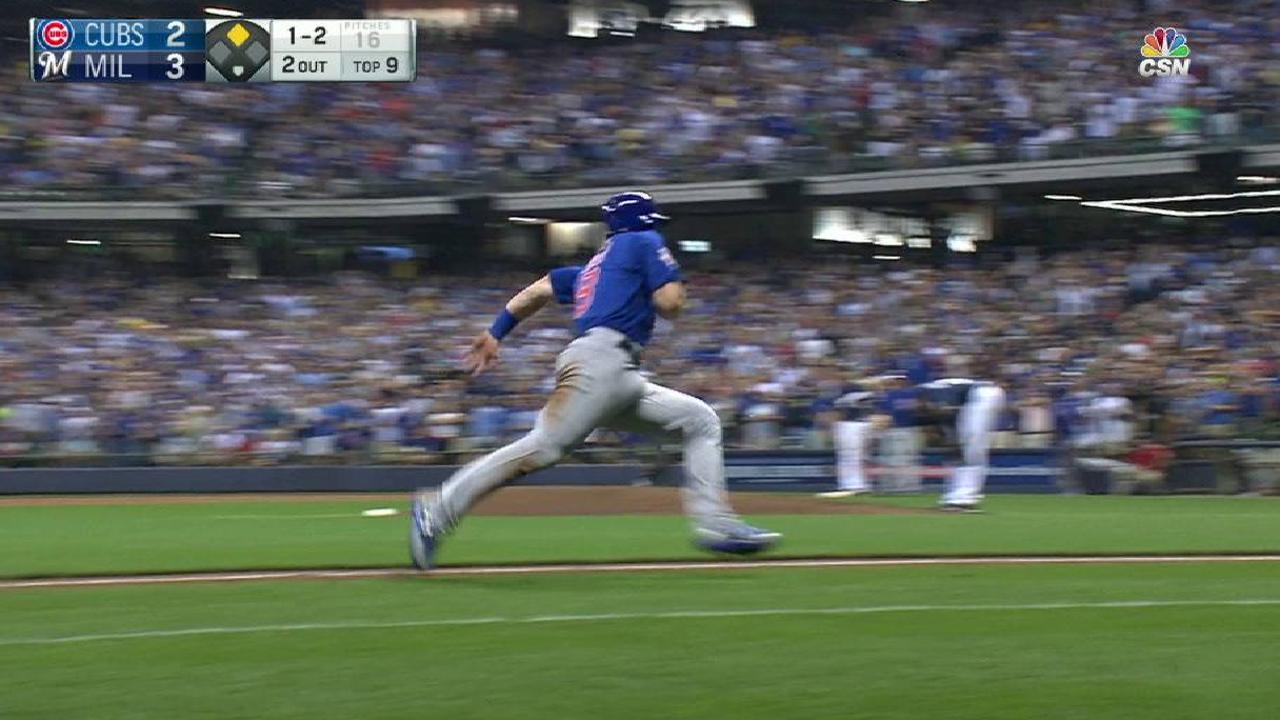 Baez's game-tying RBI single