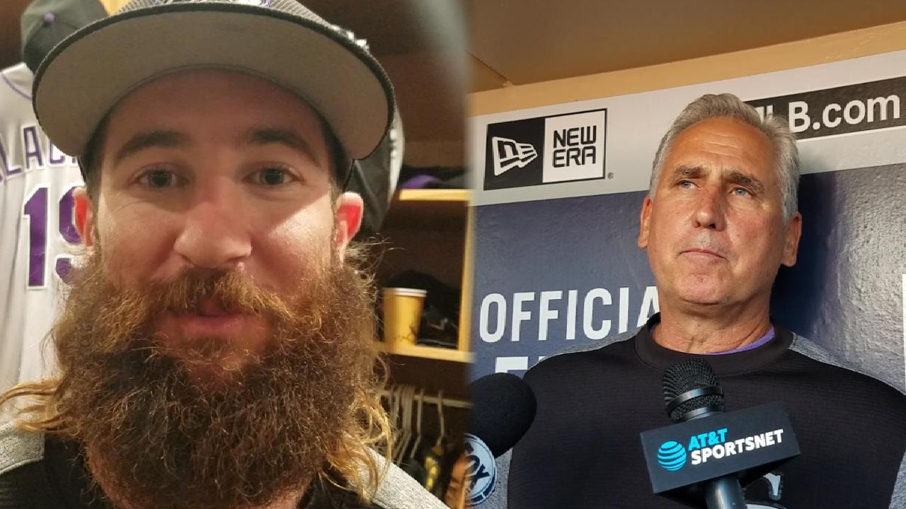 Blackmon hits the books to adjust to pitchers