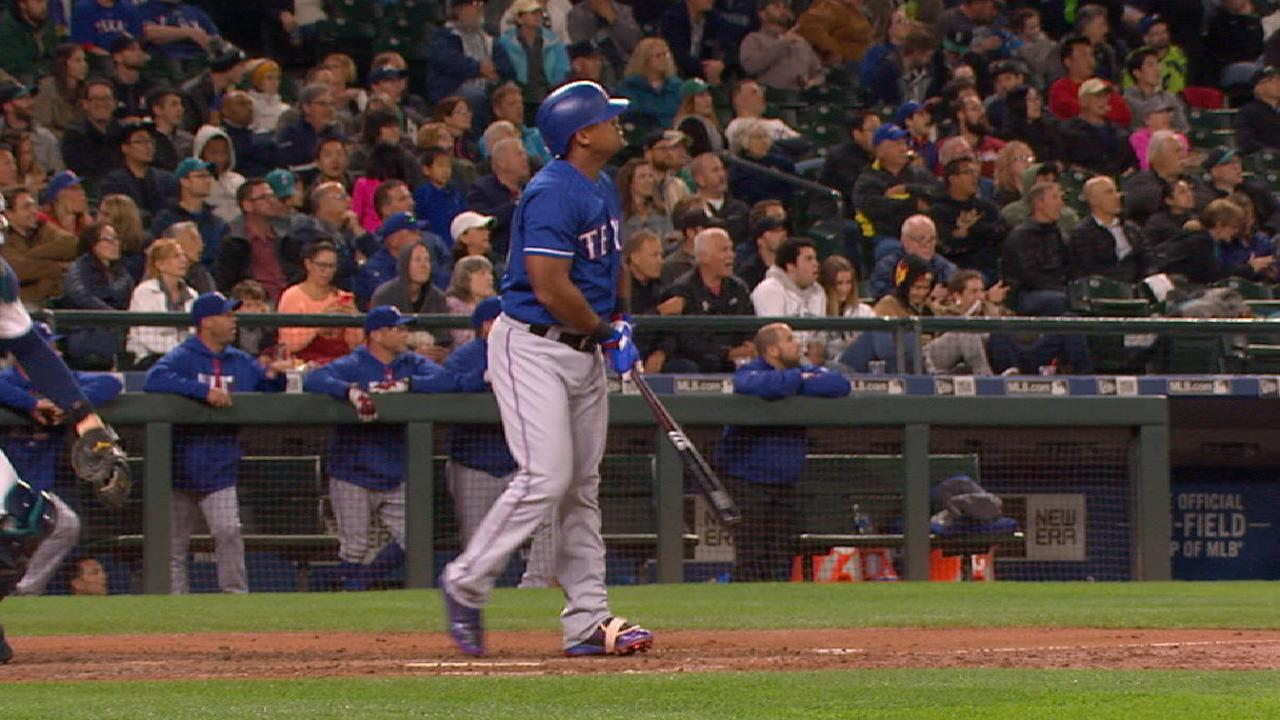 Beltre still limited to designated hitter duties