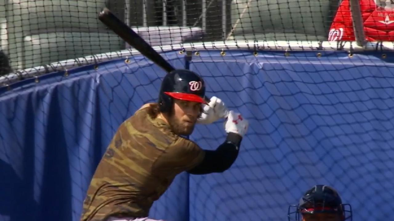 Harper 'felt good' in second simulated game