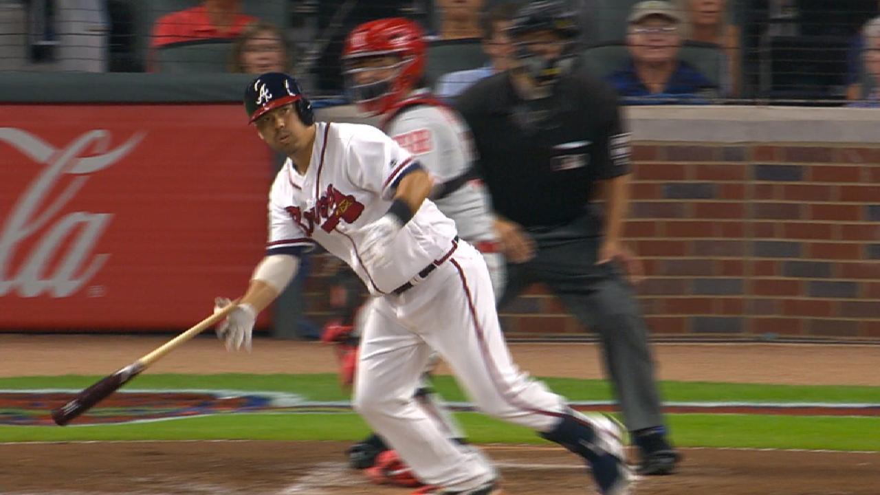 Braves' five-run 1st