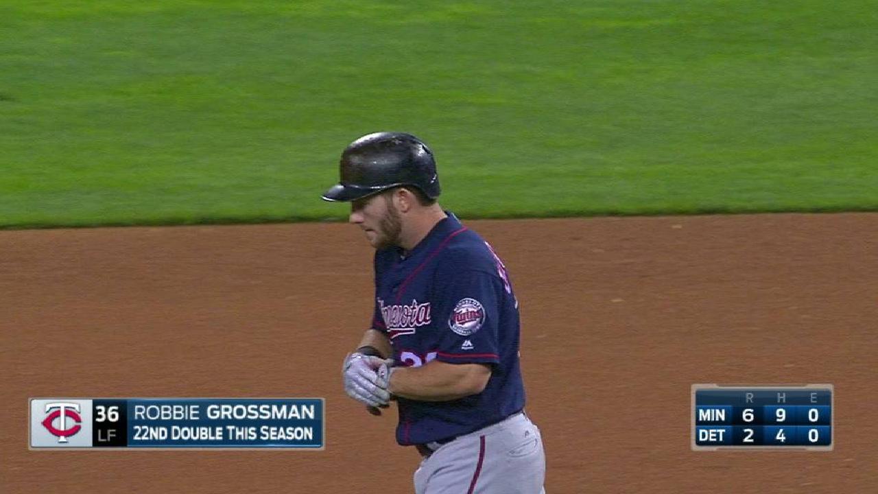 Grossman's RBI double