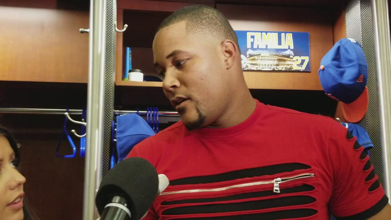 Familia on earning the save