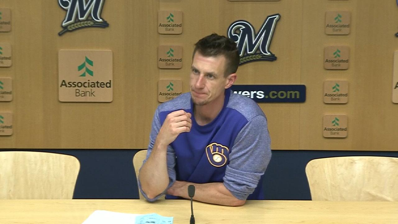 Counsell on Knebel's relief work
