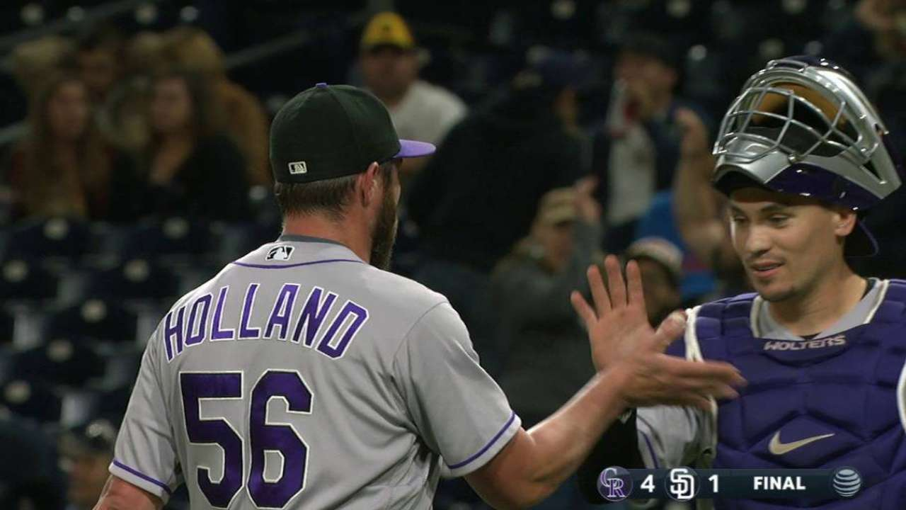 Holland collects 41st save