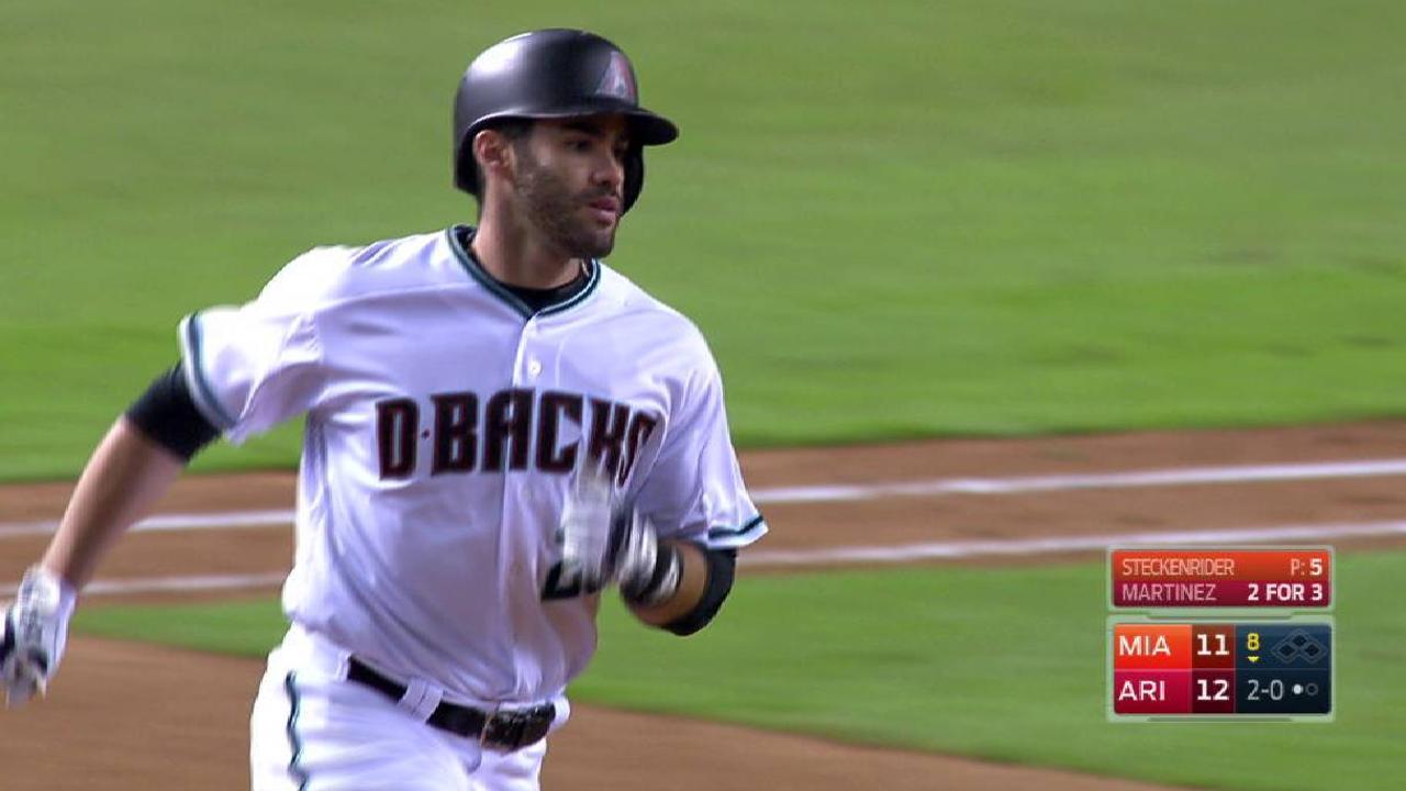 Martinez's 42nd home run