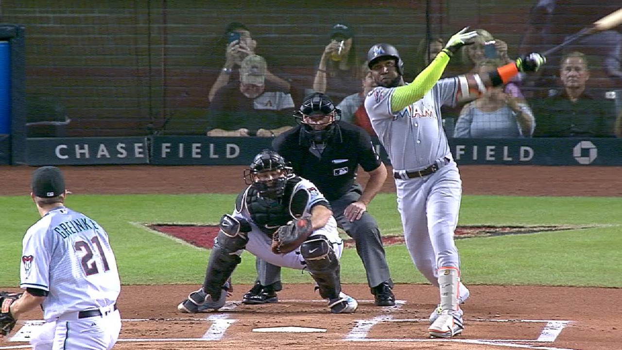 Ozuna's two-homer night