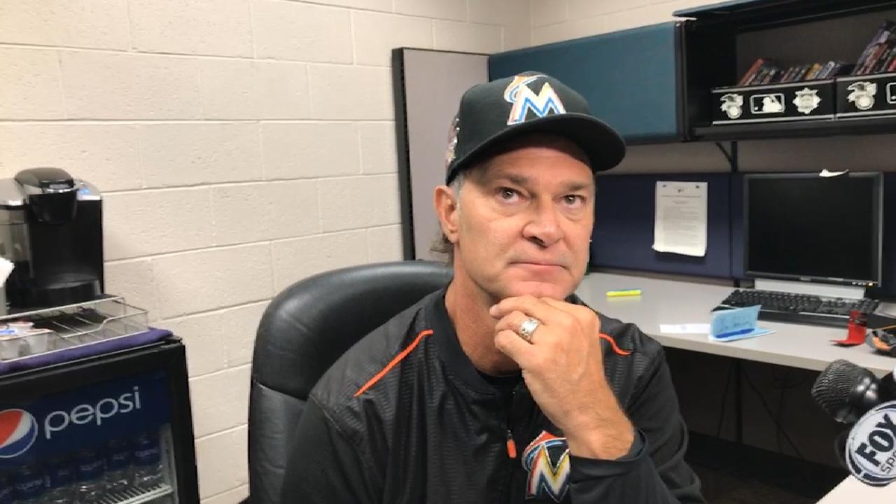 Mattingly on Marlins' loss