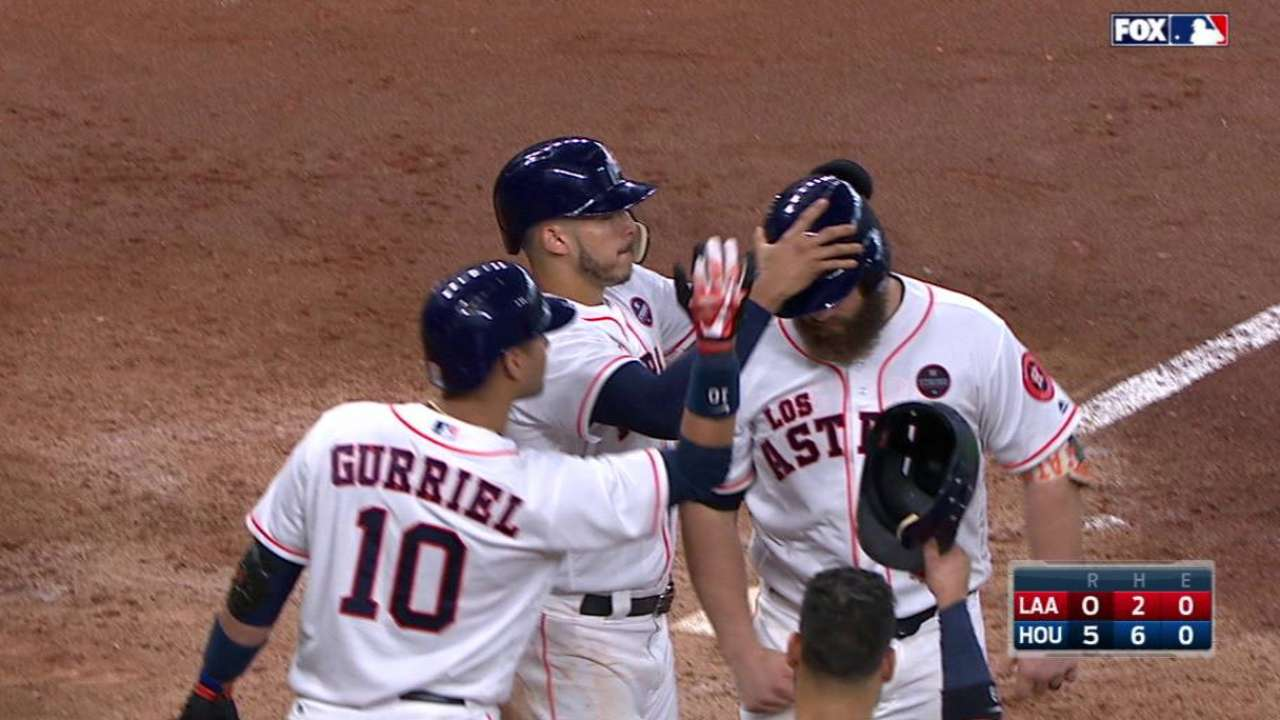Astros' 95th win sends Angels to 6th straight L