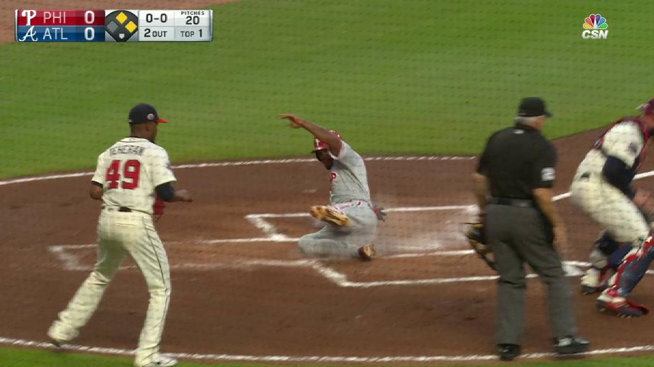 Hoskins' RBI double