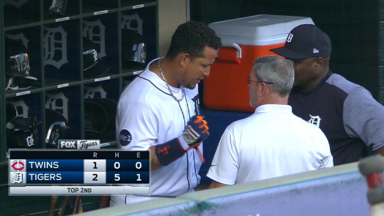 Miguel Cabrera tiene dos hernias discales en la espalda