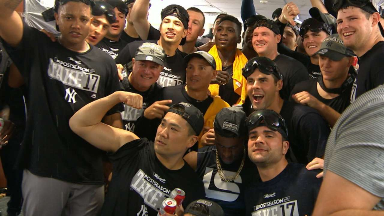 Flying high: Bird leads Yanks to playoff clinch