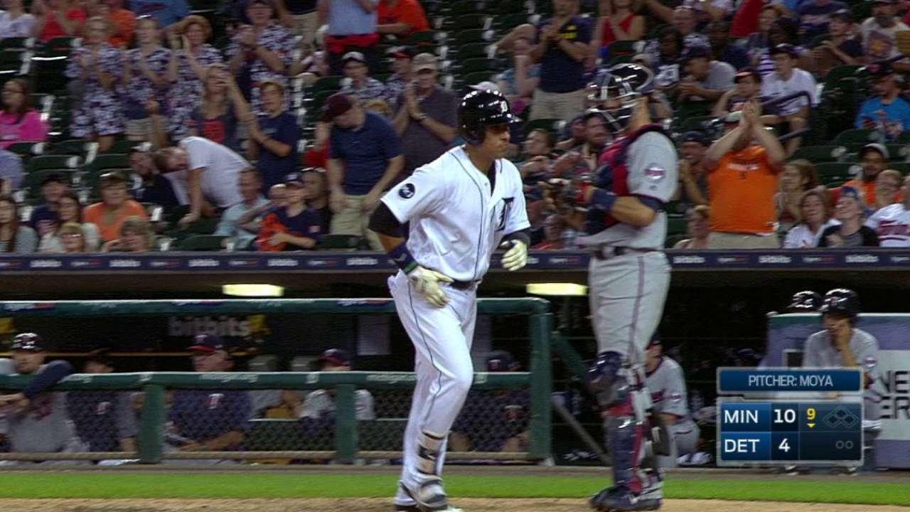Navarro's second home run