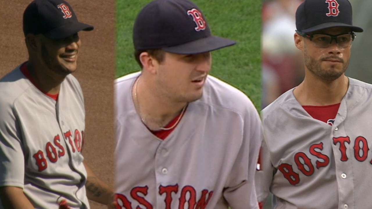 Red Sox blank Reds, trim magic number to 5