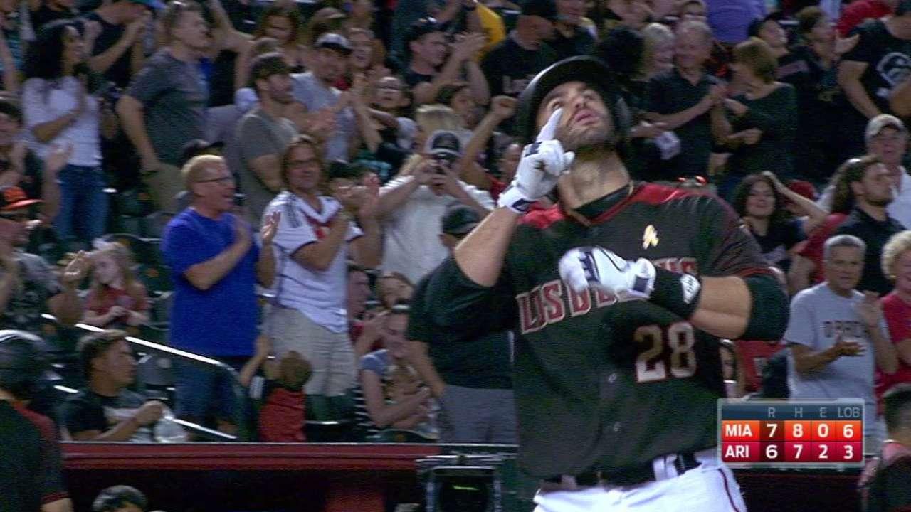Martinez's 43rd home run