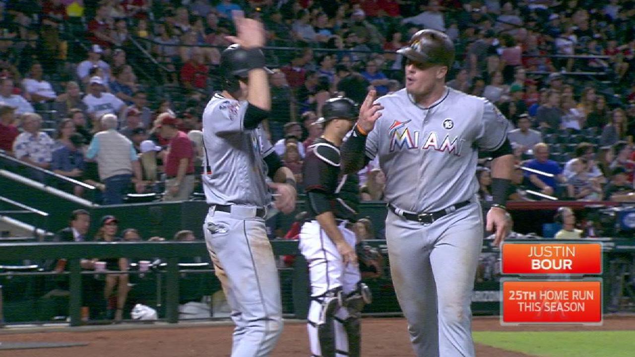 Bour's 25th home run