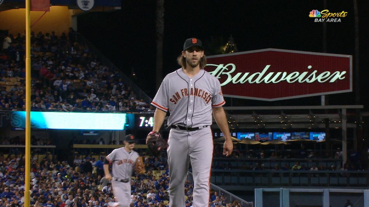 Giants to pick up Bumgarner's 2018 option