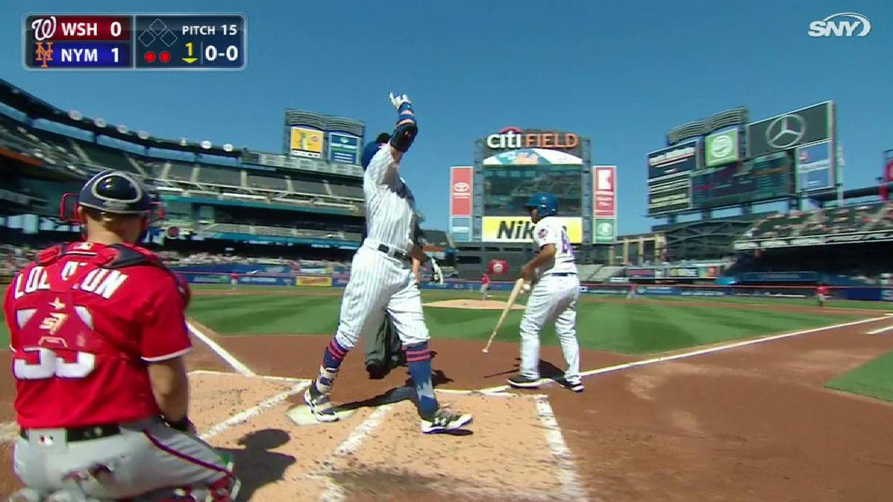 Nimmo HRs again, but Mets can't best Max