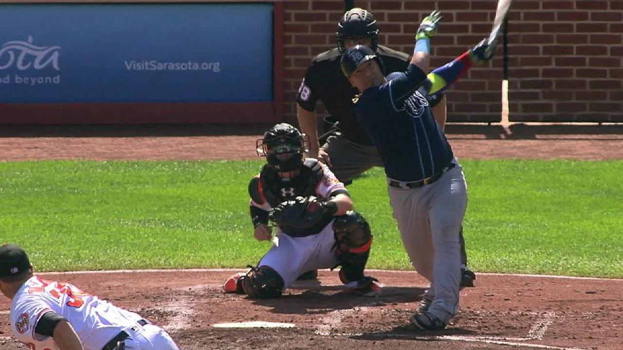 Sucre's two-run homer
