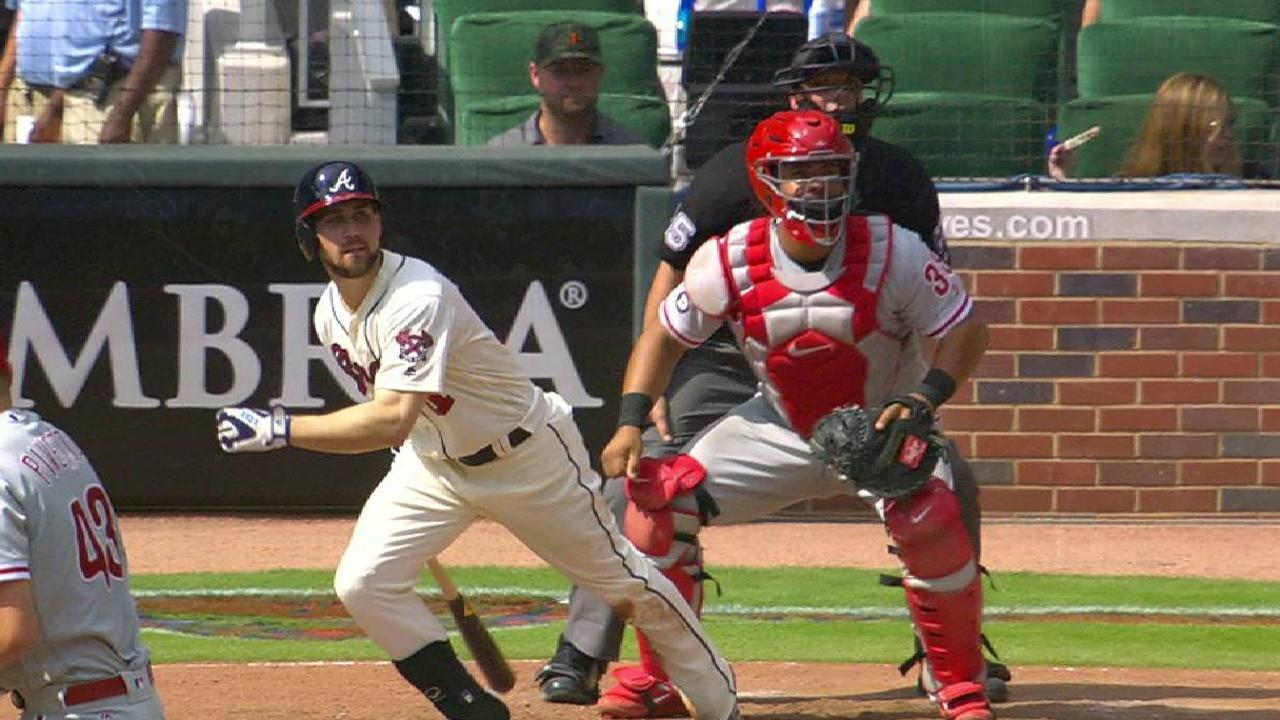 Inciarte closing in on 200-hit season