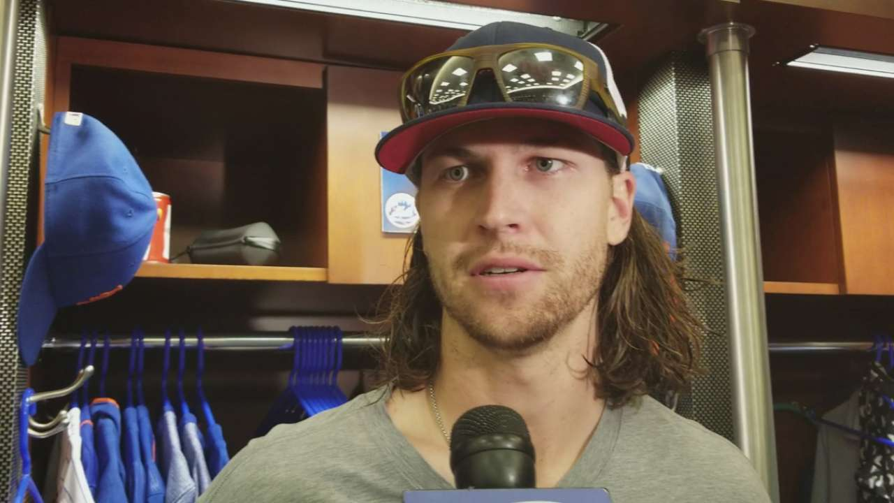 deGrom on pitching 200 innings