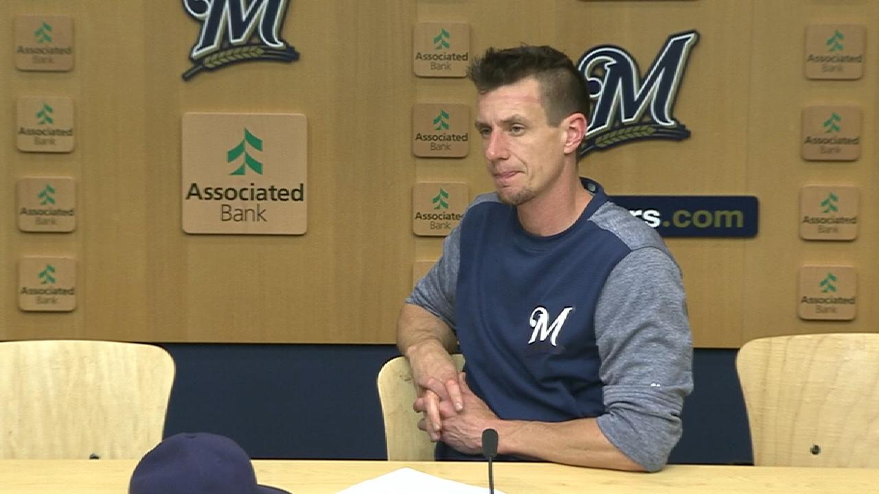 Counsell on 5-0 loss to Cubs