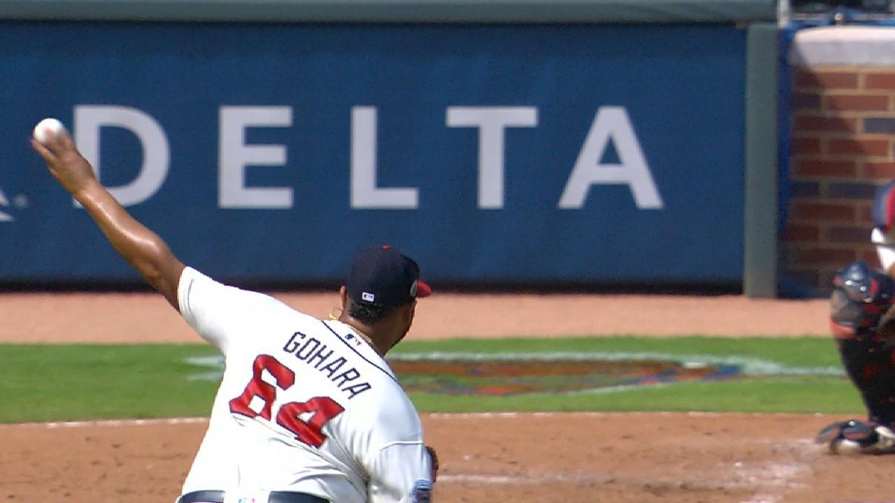 Gohara K's 9 Phillies but Braves drop finale