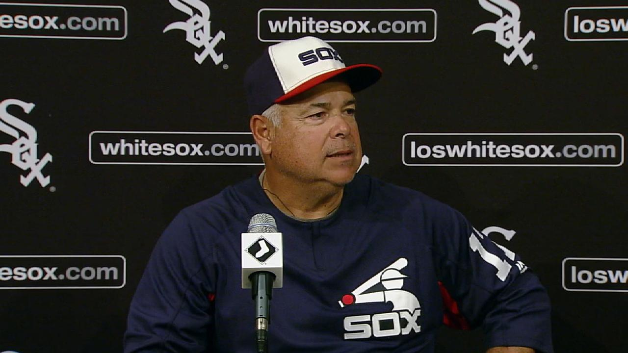Renteria on Giolito's pitching
