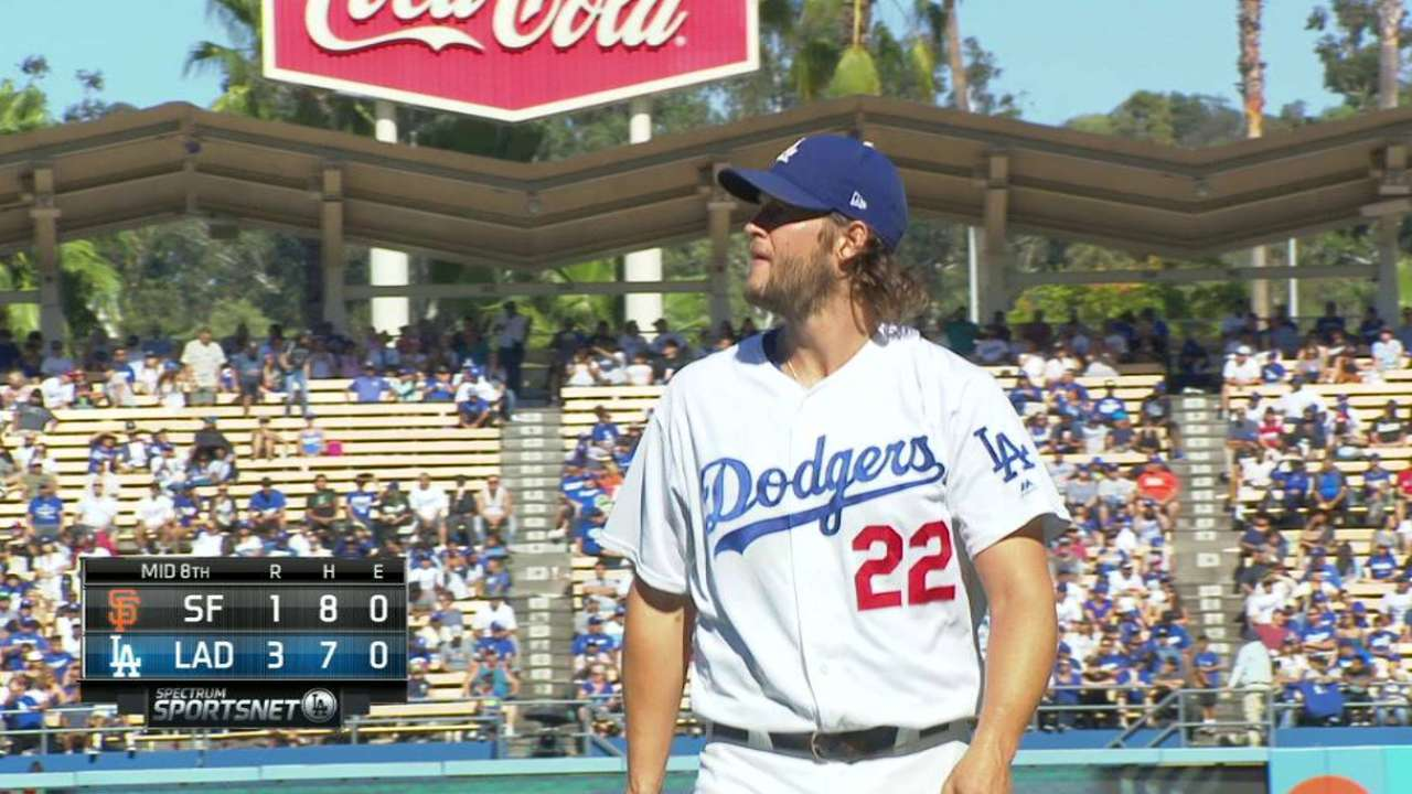 Kershaw's 200th K of the year