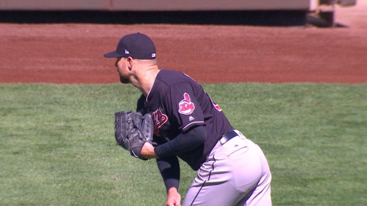 Kluber's 18th win of the year